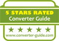5 Stars Rated Converter Guide www.converter-guide.com