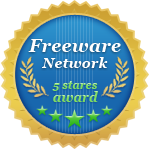 Freeware Network 5 stars award