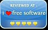 REVIEWED AT i love free software 5 hearts