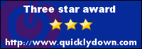 Three star award http://www.quicklydown.com