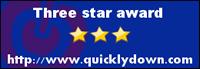 Three star award http://www.quicklydown.com