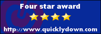 Four star award http://www.quicklydown.com
