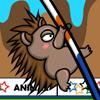 Olimpíadas Animais: Salto com vara