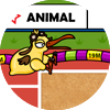 Olimpíadas Animais - Salto Triplo
